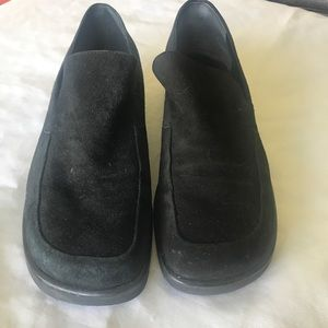 Franco Sarto suede clogs size 8 90's style